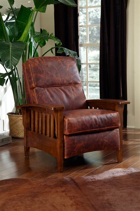 mission leather recliner leather recliners mission leather recliner