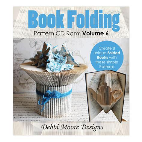 book art pattern generator book folding pattern cd rom volume 6 debbi moore designs