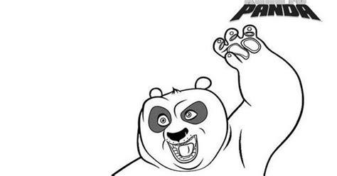 Kung Fu Panda Outline by Craftoholic Kung Fu Panda Printable Coloring Pages
