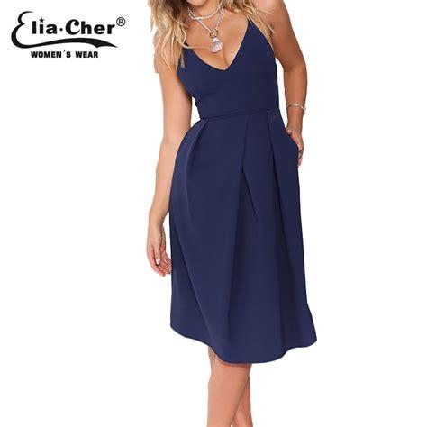 Women Dress 2017 Summer Dresses Eliacher Brand Plus Size Casual Female Clothing Evening Party