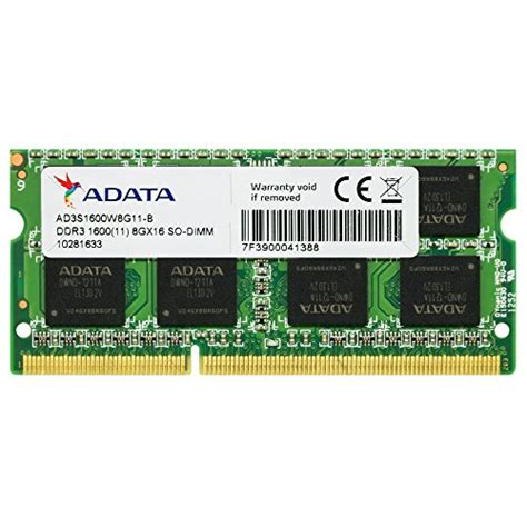 ddr3 ram laptop price adata 8gb ddr3 1600mhz ad3s1600w8g11 r laptop memory price