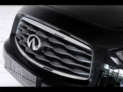 Car Grill Wallpaper by 2009 Crd Nissan Infiniti Fx Concept Car Front Grille