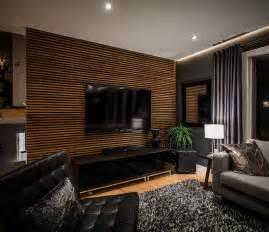 wohnzimmer paneele revestimiento de paredes 6 materiales para la pared interior