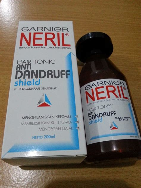 Shoo Garnier Neril garnier neril hair tonic anti dandruff shield frequent usage 200ml hair loss