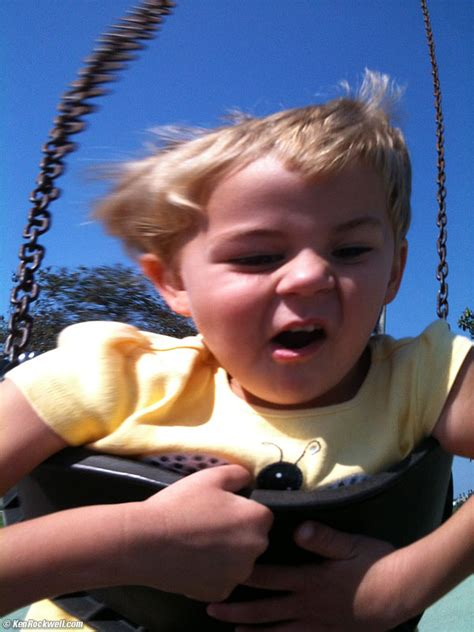 scary swing iphone 3gs review