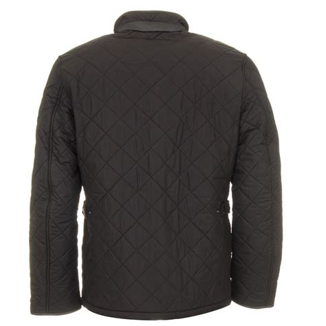 Barbour Quilted Jackets For by Barbour Powell Quilt Black