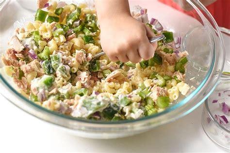 cold tuna noodle pasta salad recipe cold tuna macaroni salad