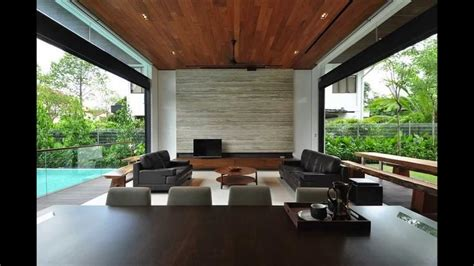 home design sg review stylish bungalow inspired residence in singapore sunset