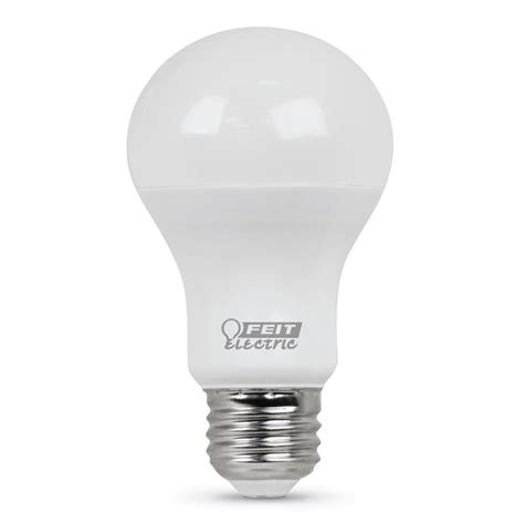 Led 60 Watt Equivalent Light Bulbs Feit Electric 60 Watt Equivalent Daylight A19 Led Medium Base Light Bulb Of 24 A800 850