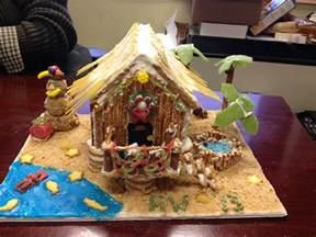 gingerbread beach house beach themed gingerbread house diy crafts pinterest
