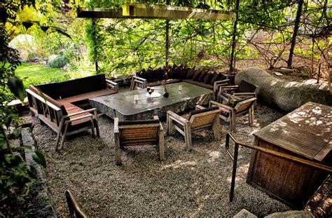 triyae pea gravel patio ideas various design
