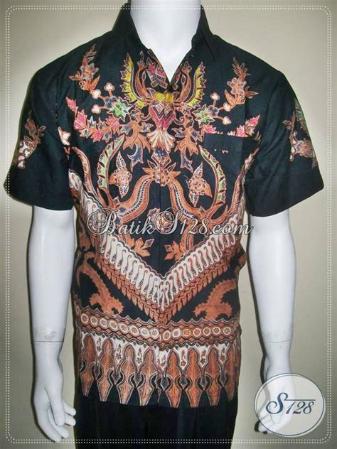 Sale Kemeja Hem Batik Pria Pekalongan Megono Coklat kemeja batik pria tulis warna hitam ld110t bed mattress sale