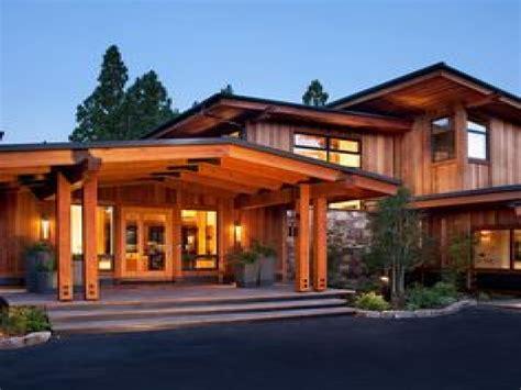 modern style house plans craftsman modern house
