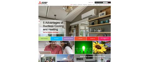 comfort site our new consumer website goes live mitsubishi electric