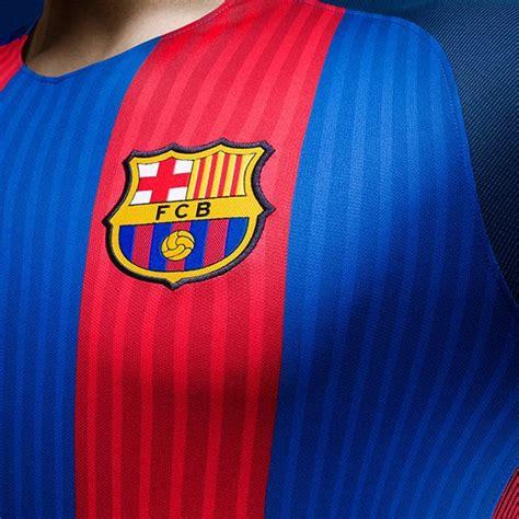 barcelona home kit barcelona 16 17 home kit released footy headlines