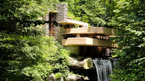 Haus Fallingwater by Travel On The Level Wright S Fallingwater Doesn T Disappoint
