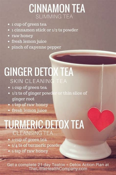 What Detox Works Best by Tea For Tips Http Thelittlehealthcompany