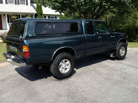 find used toyota tacoma 1997 extended cab 4x4 manual v4 in asheville north carolina united states