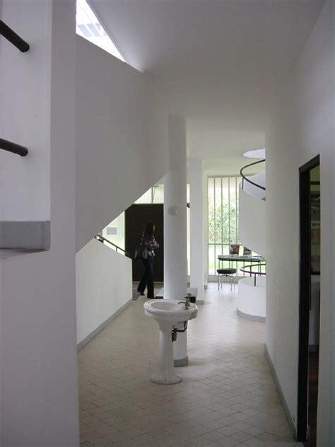 Villa Savoye Interior by Poetry And Architecture Construction Literary Magazine