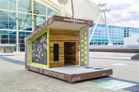 the dog house denver check out wag worthy solar doggie digs denver international airport