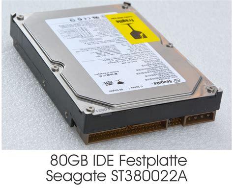 Harddisk Seagate 80 Gb 3 5 quot 8 89 cm 80 gb 80gb ide festplatte hdd seagate
