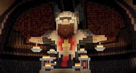 Minecraft Throne Room by Throne Of Arathorn Dwarven Theme Minecraft Project