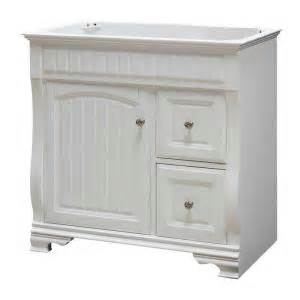 White Vanity Home Depot Pegasus 36 In Vanity Cabinet Only In White F11 Ae 017