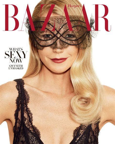 Cover Wars Harpers Baazar Vs Vogue Nippon by Gwyneth Paltrow On The November 2016 Cover Of S
