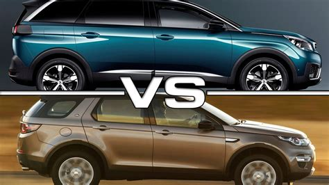 ford range rover look alike peugeot 5008 vs land rover discovery sport youtube