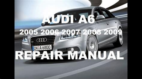 free service manuals online 2012 audi a6 interior lighting audi a6 2005 2006 2007 repair manual youtube