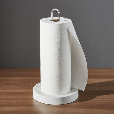 How To Make Paper Towel - kohler paper towel holder crate and barrel