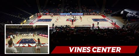 liberty vine center seating chart athletics facilities vines center liberty flames