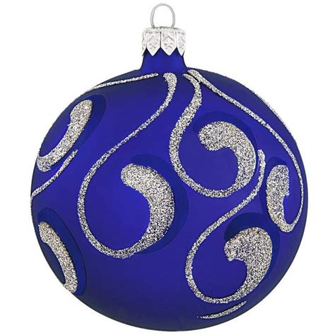 17 best images about royal blue christmas ornaments on