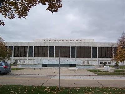 henry ford centennial library henry ford centennial library libraries on waymarking