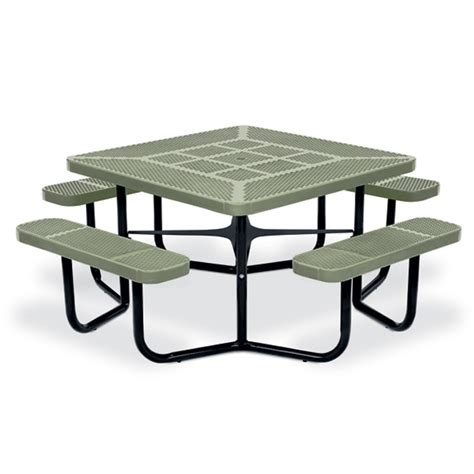 rally square picnic table picnic tables upbeat