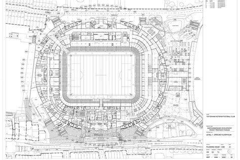 stadium floor plans tottenham stadium details emerge on haringey council