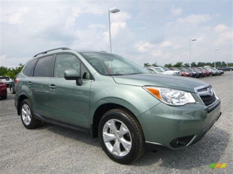 2015 Green Metallic Subaru Forester 2 5i Limited