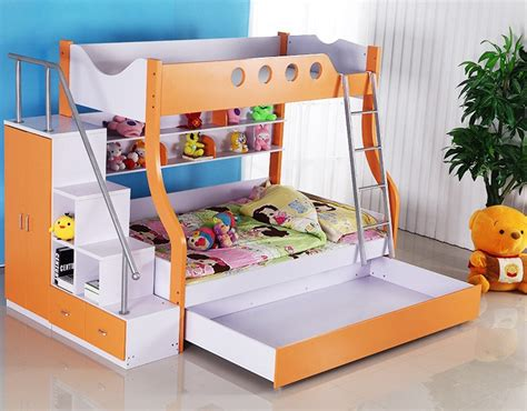 children s beds for sale orange wood triple bunk beds for kids on sale buy triple