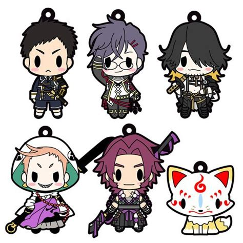 D4 Touken Ranbu Rubber Collection Honebami d4 touken ranbu rubber collection vol 6