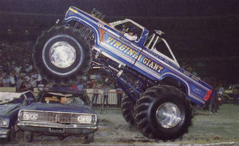 old monster truck videos vintage monster truck pulling video from 1987