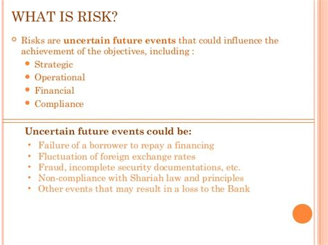 what is bank risk management risk management in islamic banking