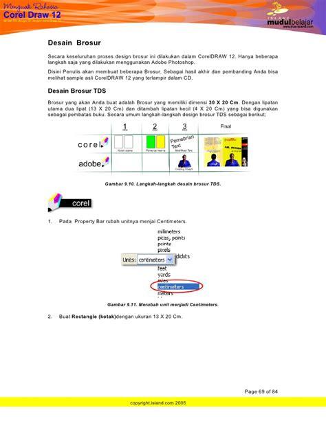 desain brosur dengan corel draw x3 belajar coreldraw menguak rahasia corel draw 12