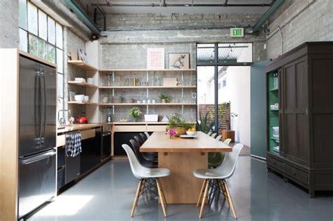 Kitchen of the Week: Epoch Films' Friendly Industrial Loft Kitchen   Remodelista