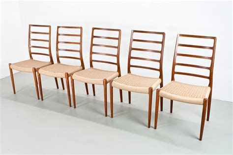 neils moller no 82 highback dining chairs in rosewood set of 10 at 1stdibs model 82 high back dining chairs by n o m 248 ller for j l