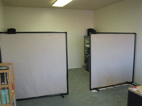 Pvc Room Divider Cheap Office Or Room Divider 6 Steps With Pictures