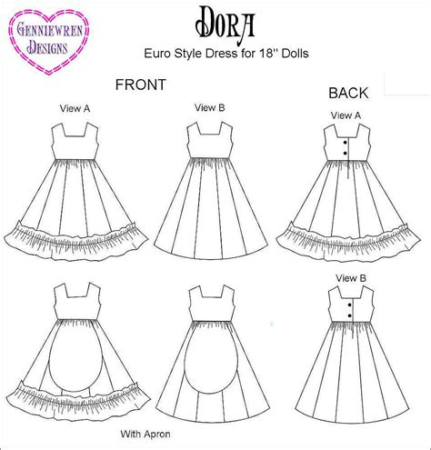 design doll clothes patterns doll dress patterns oasis amor fashion