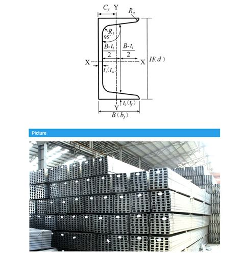 rolled steel channel sections structural steel u beam section hot rolled carbon steel c