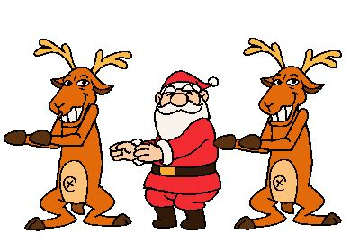 animated photos of christmas santa claus with reindeer 20 great santa claus animated wishes gif images to