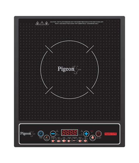 pigeon mini induction stove pigeon rapido induction cooktop available at snapdeal for rs 2079