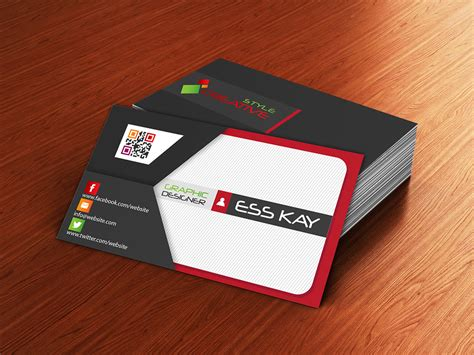 presentation cards templates 75 free business cards a graphic world